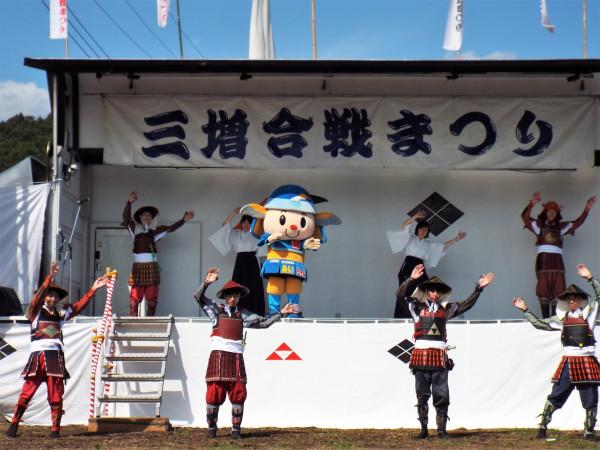 「三増合戦祭り」 永田巖(IwaoNagata)さん撮影